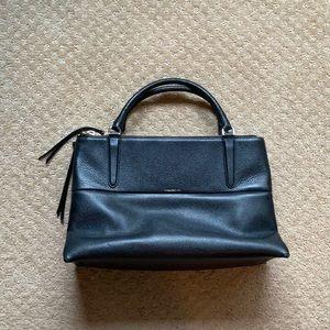 Black Coach zipper purse